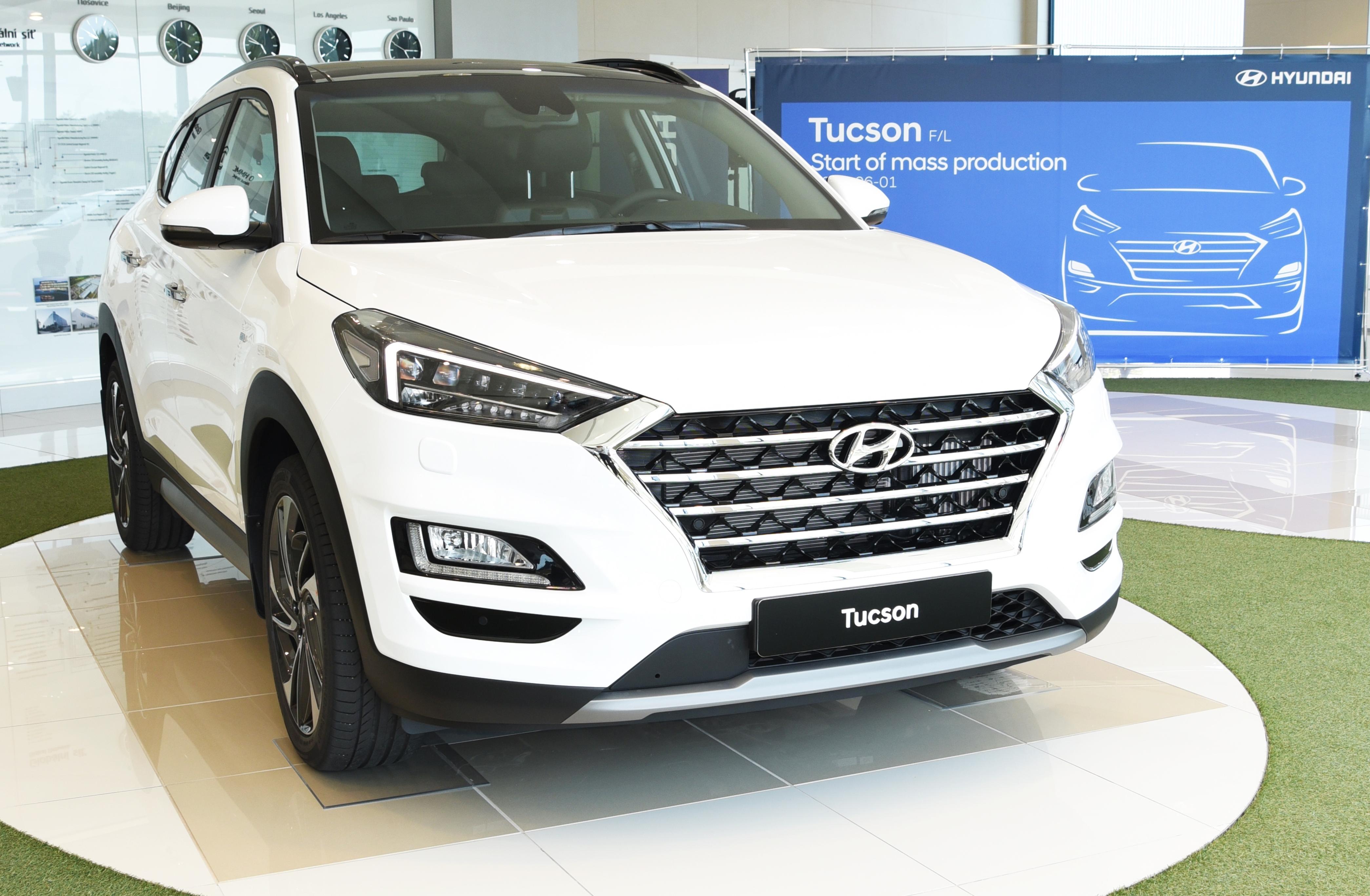 Zahájení výroby Hyundai Tucson
