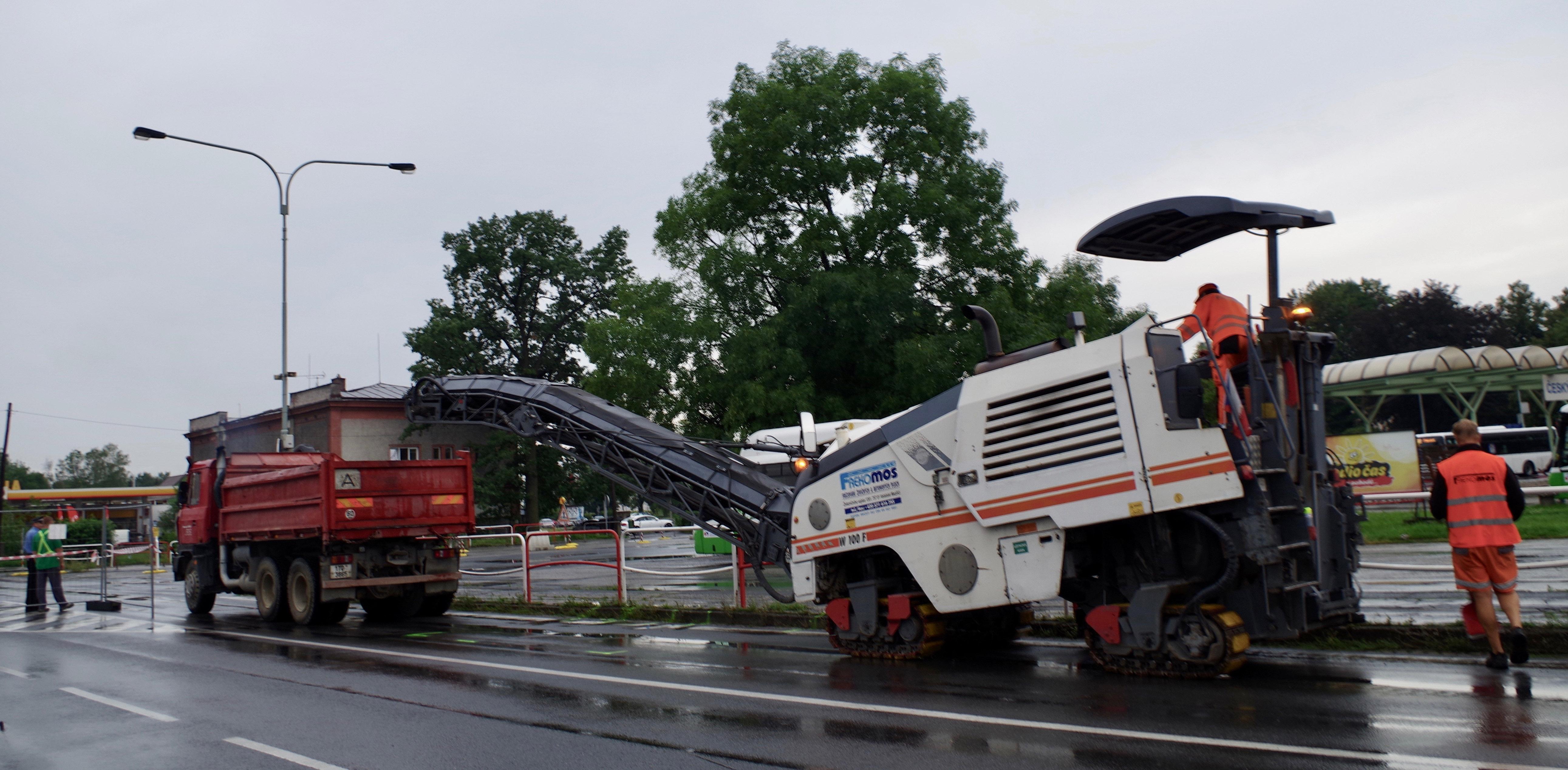 Dopravní omezení Český Těšín