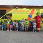Návštěva dětí ZZS MSK ve Frýdku-Místku