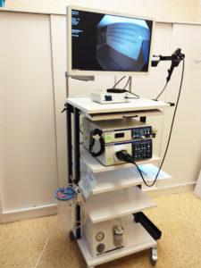endoskopické vybavení