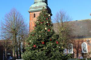 Vánoční strom ve Frýdku-Místku