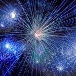 Novoroční ohňostroj opět přilákal zvědavé diváky