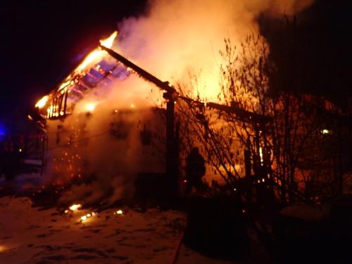 Požár ve Staříči