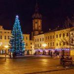 vánoční strom místek